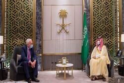 فرستاده نخست وزیر انگلیس با «محمد بن سلمان» دیدار کرد