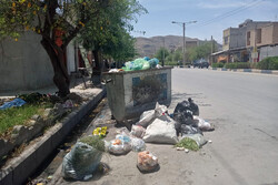 انباشت زباله در ایذه