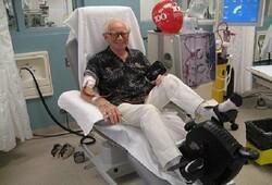 دوچرخه زدن در حین دیالیز برای بیمار مفید است