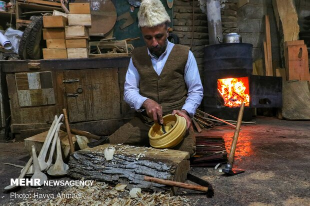 Woodcarving in north of Iran, Mazandaran