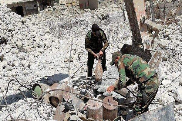 انهدام ۳ خودرو بمب گذاری شده و نابودی مواد منفجره  داعشی در موصل