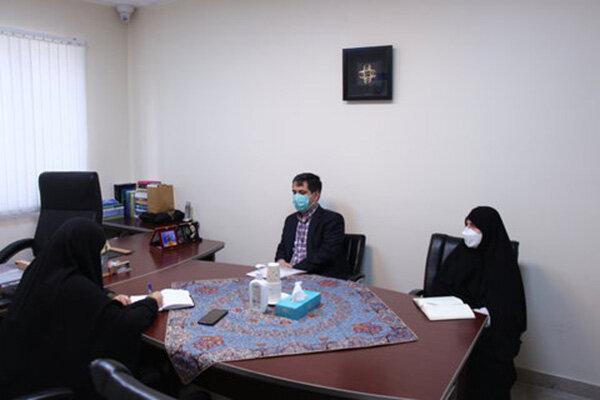 دیدار مدیرکل کتابخانههای عمومی تهران با رئیس فراکسیون زنان مجلس