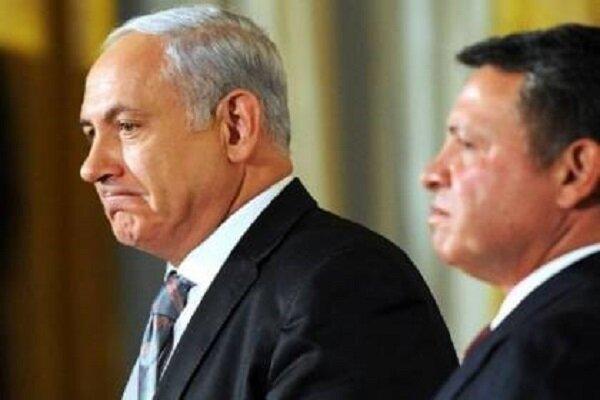 تشدید بحران میان اردن و رژیم صهیونیستی