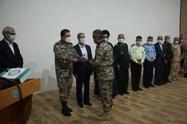 فرمانده پدافند هوایی منطقه جنوب در استان بوشهر معرفی شد