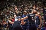 منتخب إيران للكرة الطائرة يتراجع إلى المركز الــ 9 عالميا