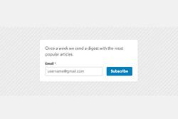 چگونه بازدیدکنندگان وبسایت رابه مشترکان خبرنامه ایمیلی تبدیل کنیم