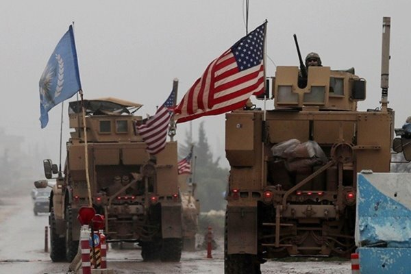 US military convoy in eastern Syria targeted with rockets
