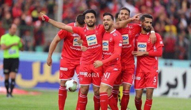 هدف اللاعب سيد جلال حسيني يحسم المباراة لصالح برسبوليس الإيراني