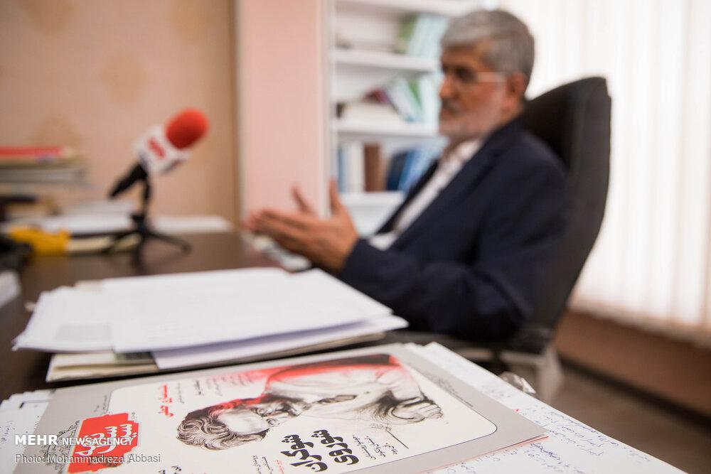 گفتگو با علی مطهری