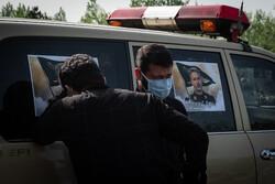 نبل و الزہرا  کے فاتح مرحوم جنرل حق بین کی لنگرود میں تشییع جنازہ
