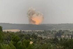 Huge explosion hits Israeli regime's missile factory (+VIDEO)