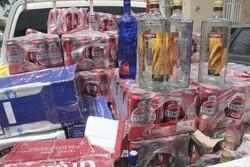 قاچاقچیان مشروبات الکلی در گنبدکاووس دستگیر شدند