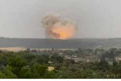 Siyonist İsrail'in askeri fabrikasında büyük patlama