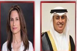 تماس تلفنی وزیر  صنعت بحرین با وزیر گردشگری رژیم صهیونیستی