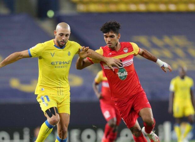 فولاد الايراني والنصر السعودي يتعادلان في دوري أبطال آسيا لكرة القدم
