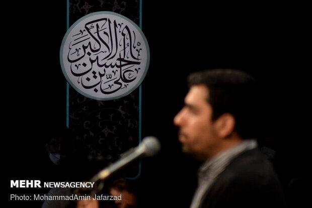 مناجات خوانی شب های ماه رمضان در هیئت عبدالله بن الحسن(ع)