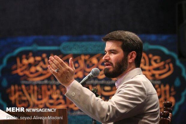 شب زنده داری شب های ماه مبارک رمضان در امامزاده قاضی الصابر(ع)