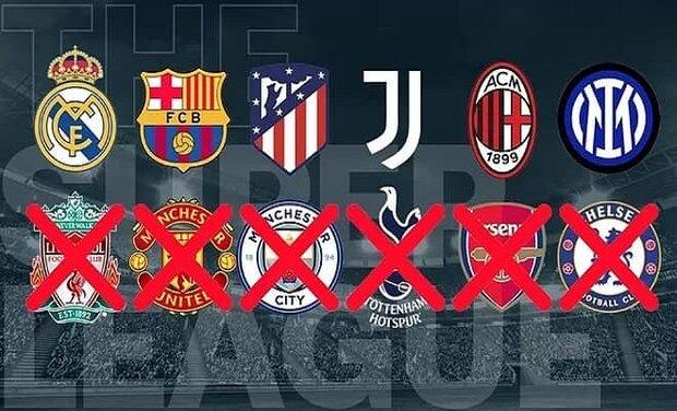 European Super League on brink of collapse
