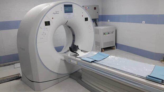 تحویل دستگاه سی تی اسکن به بیمارستان شهدای شهرستان دهلران
