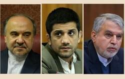 دیدار علیرضا دبیر با وزیر ورزش و رئیس کمیته ملی المپیک