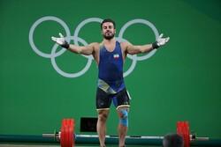کیانوش رستمی به مدال طلای مجموع وزنه برداری قهرمانی آسیا رسید
