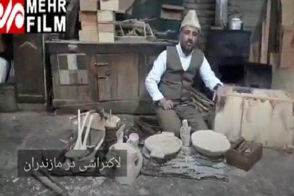 VIDEO: Dying art of woodcarving in Mazandaran