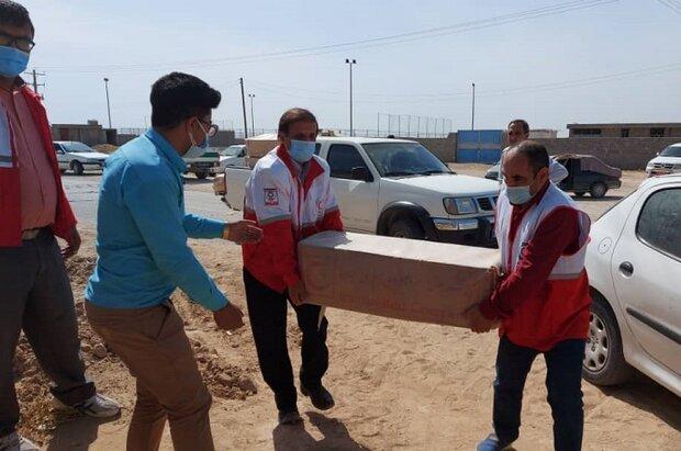 ۳۲۸ دستگاه چادر امدادی در مناطق زلزلهزده توزیع شد