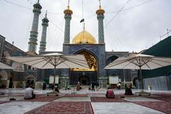 مراسم تلاوة القرآن الكريم في مرقد السيدةفاطمة المعصومة عليها السلام
