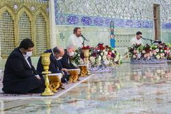 Holy Quran recitation in Fatima Masumeh's shrine in Ramadan
