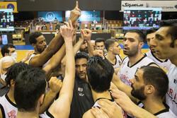 دیدار تیم های بسکتبال شهرداری گرگان و مهرام تهران