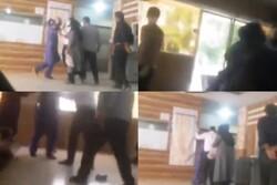 با مأموران خاطی درگیری در بیمارستان دزفول برخورد میشود