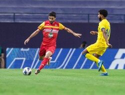 دیدار تیم های فوتبال فولاد و النصر عربستان