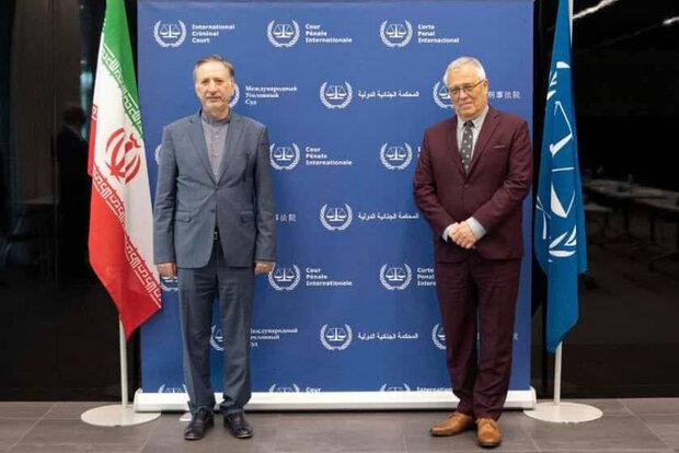 Iran, ICC discuss Afghanistan, Palestine