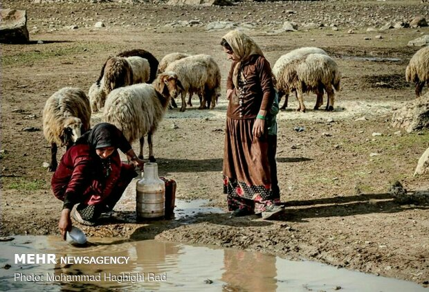 روستاهای فراموش شده بخش سرفیروزآباد کرمانشاه