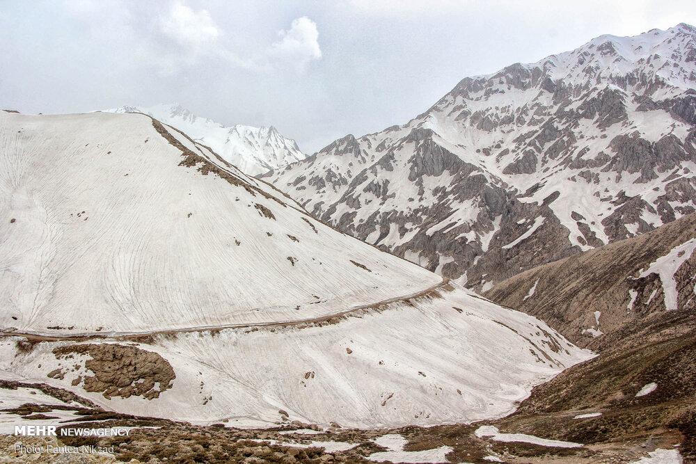 احتمال بارش ساعتی باران و برف در ارتفاعات جاده چالوس و طالقان