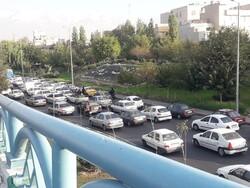 ترافیک سنگین در اکثر معابر پایتخت حاکم است