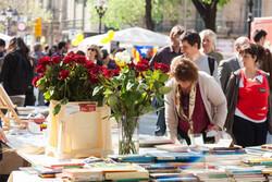 سن جوردی؛ جشن گل، عشق و کتاب در بارسلونا
