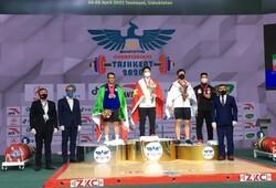 Moradi gains silver at Asian Weightlifting C'ships