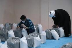 ۷۰۰ بسته معیشتی بین نیازمندان و ایتام در ملارد توزیع شد