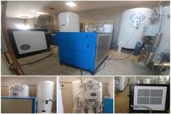 استقرار دستگاه اکسیژن ساز و «سی.تی.اسکن» در فیروزکوه