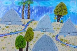 موفقیت ۲ عضو کانون پرورش فکری فارس در جشنواره ملی نقاشی آب