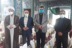 اجرای رزمایش ضیافت الهی و توزیع کمک مومنانه در نوشهر
