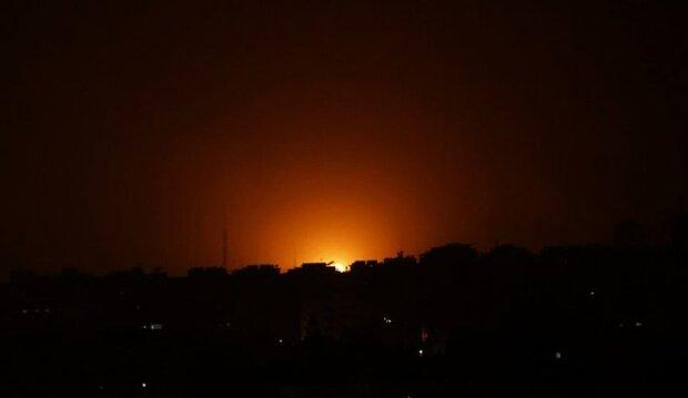 Siyonist güçlerinden Gazze'ye saldırı