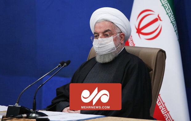 روحانی: اوضاع کرونا در کشور نگران کننده است