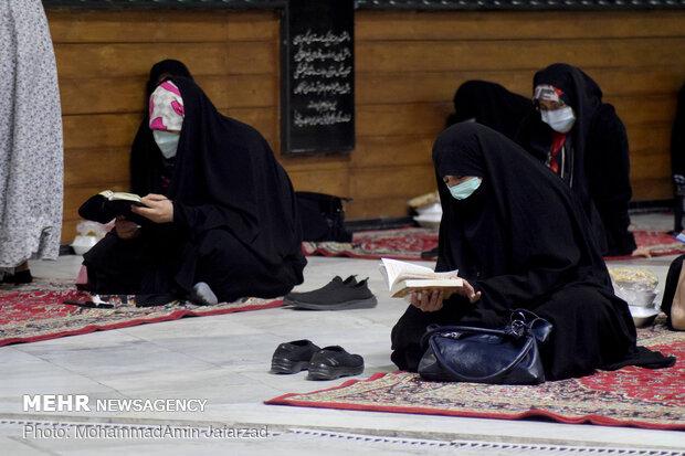 Tahran'daki Ramazan merasiminden fotoğraflar