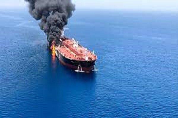 ناقلة نفط تعرضت لهجوم قبالة مصب النفط في بانياس