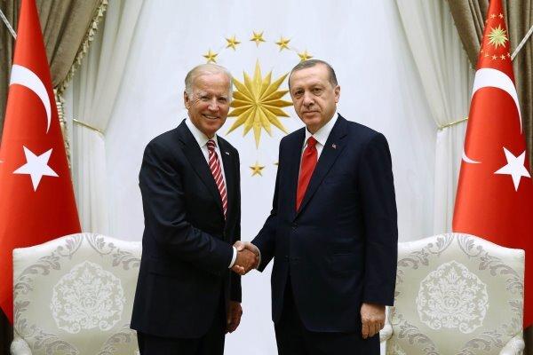 بایدن: دیدار بسیاری خوبی با اردوغان داشتم!