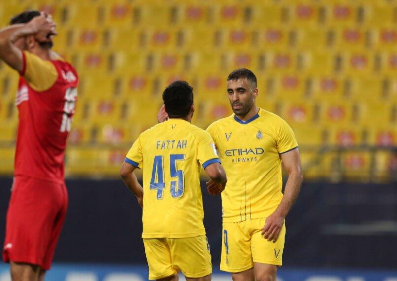 صعود مقتدارنه النصر به نیمه نهایی با گلباران الوحده امارات