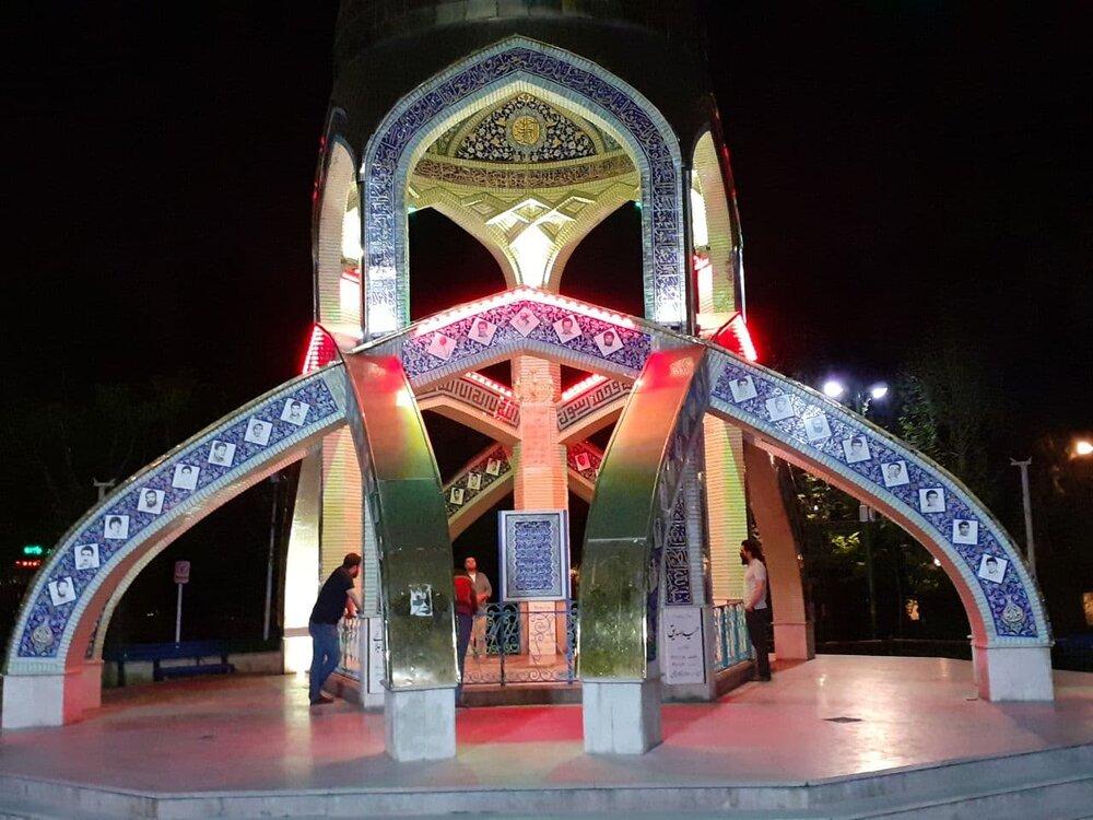 حال و هوای شبهای رمضان امامزاده اسماعیل
