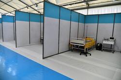 آغاز بهکار ۵ بیمارستان صحرایی هلال برای کمک به درمان بیماران